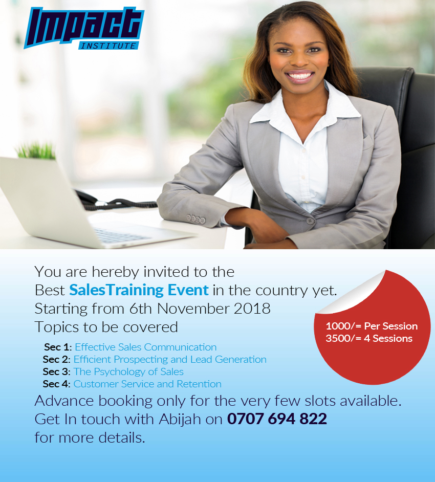 Sales Training Event