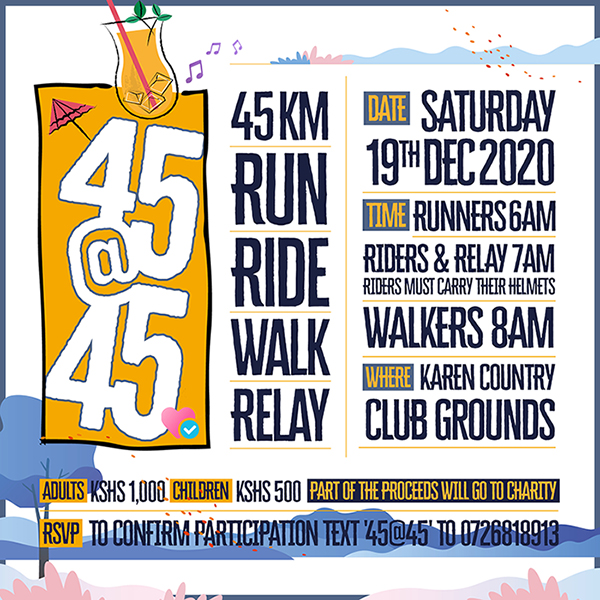 45@45 Run / Ride / Cycle / Relay